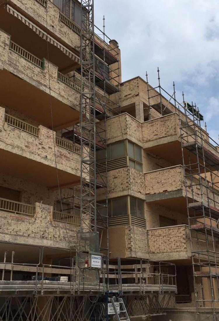 Rehabilitación Edificios Elche - Segalca